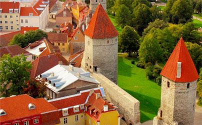 Таллинн - Автомобильный тур по Литве, Латвии и Эстонии
