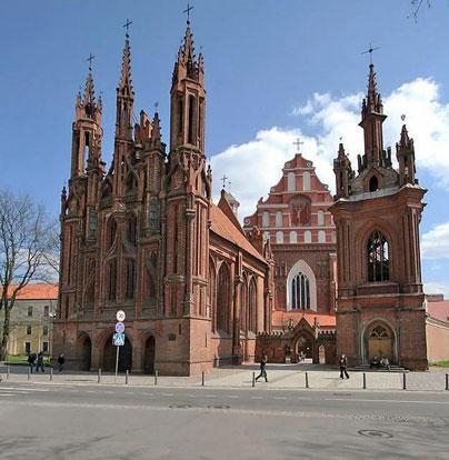 Вильнюс - Автомобильный тур по Литве, Латвии и Эстонии