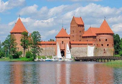 Тракай - Автомобильный тур по Литве, Латвии и Эстонии