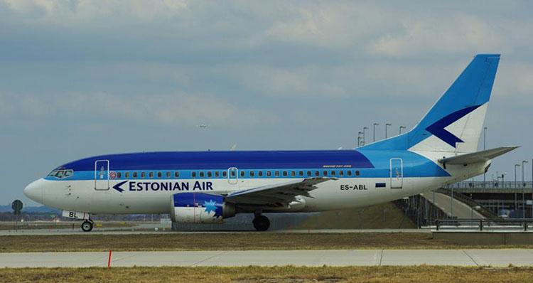 Авиакомпания Estonian Air прекращает полеты с воскресенья 8 ноября