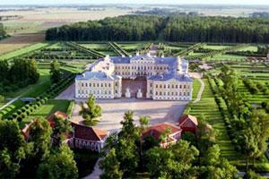 Латвия. Рундальский дворцовый ансамбль